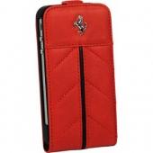 Ferrari California flip leather case for iPhone 4, red (FECFFL4R) ▪