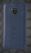 Lamborghini Performate D1 leather case for iPhone 4