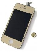 Дисплей LCD+ Touchscreen для iPhone 4 в сборе Copy Gold