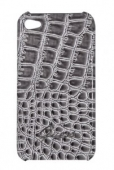 GUESS Croco back cover for iPhone 4