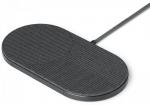 Беспроводное зарядное устройство Native Union Drop XL Wireless Charger Fabric Slate (DROP-XL-GRY-FB-UEU)