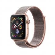 Смарт-часы Apple Watch Series 4 GPS 44mm Gold Alum. w. Pink Sand Sport l. Gold Alum. (MU6G2)