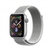 Apple Watch Series 4 GPS 44mm Silver Aluminum Case with Seashell Sport Loop (MU6C2)
