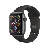 Б/У Apple Watch Series 4 GPS 44mm Space Gray Aluminum Case with Black Sport Band (MU6D2) - идеал 5/5