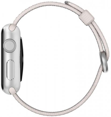 Ремешок Apple Band Royal for Watch 42mm, Pearl Woven Nylon (MMA72)