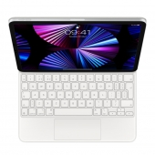 Apple Magic Keyboard for iPad Pro 11-inch (3rd generation) and iPad Air (4th generation) White (MJQJ3)