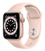 Б/У Apple Watch Series 6 40mm GPS Gold Aluminum Case with Pink Sand Sport Band (MG123)