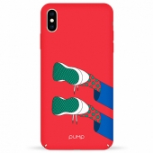 Чехол Pump Tender Touch Case for iPhone XS Max, Keds