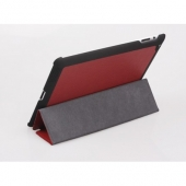 Yoobao iSlim leather case for iPad 2/3/4, red [LCAPIPAD3-SLRD]