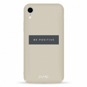 Чехол Pump Tender Touch Case for iPhone XR Be Positive