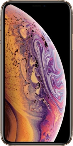 New Apple iPhone XS Max Dual Sim 64GB Gold (MT732)