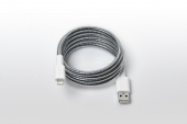 FuseChicken USB Cable to Lightning Armour Charge 1m, Metallic