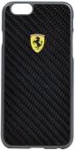Чехол Ferrari Formula One Hard Real Carbon for iPhone 6/6S (FESCCBHCP6BL)