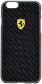 Чехол Ferrari Formula One Hard Real Carbon for iPhone 6/6S (FESCCBHCP6BL)