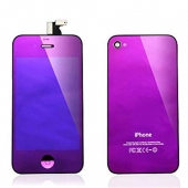 Дисплей LCD+ Touchscreen + Housing cover iPhone 4 в сборе Purple