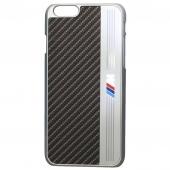 Чехол BMW Hard Case Signature Aluminium Stripe for iPhone 6/6S (BMHCP6MEB)