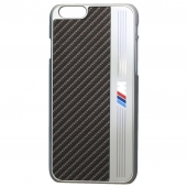 Чехол BMW Hard Case Signature Aluminium Stripe for iPhone 6/6S (BMHCP6MEB)