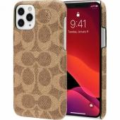 Чехол COACH Slim Wrap iPhone 11 Pro Max - Signature C Khaki (CIPH-018-SCKHK)