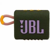 Портативная колонка JBL Go3, Green (JBLGO3GRN)
