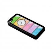 NewSH Swarovski Design Hard Case Clock Case for iPhone 5/5S