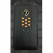Lamborghini Superleggera D2 leather case for iPhone 4,