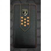 Lamborghini Superleggera D2 leather case for iPhone 4,