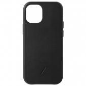 Чехол накладка Native Union Clic Classic Case for iPhone 12 Mini, Black (CCLAS-BLK-NP20S)