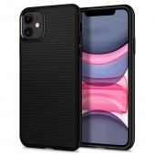 Spigen Liquid Air Case for iPhone 11, Black (076CS27184)