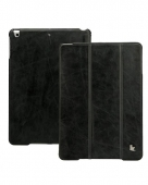 Jison Vintage leather case for iPad Air, black [JS-ID5-01A10]