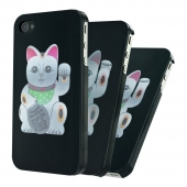 Чохол-накладка Artwizz SeeJacket Clip Lucky Cat для iPhone 4/4S (8208-SJCL-P4-LC)