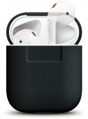 Elago Silicone Case for AirPods, Black (EAPSC-BK)