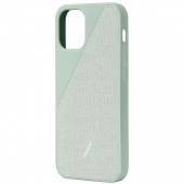 Чехол накладка Native Union Clic Canvas Case for iPhone 12 Mini, Sage (CCAV-GRN-NP20S)