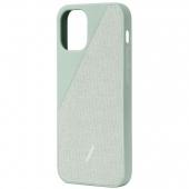 Чехол накладка Native Union Clic Canvas Case for iPhone 12 Mini, Sage (CCAV-GRN-NP20S)