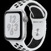 Apple Watch Nike+ Series 4 GPS 40mm Silver Alum. w. Platinum/Black Nike Sport b. Silver Alum. (MU6H2)
