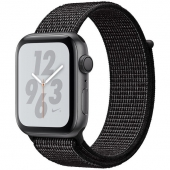 Apple Watch Nike+ Series 4 GPS 40mm Gray Alum. w. Black Nike Sport l. Gray Alum. (MU7G2)