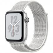 Apple Watch Nike+ Series 4 GPS 44mm Silver Alum. w. Nike Sport Loop (MTXJ2)
