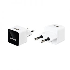 Capdase USB Power Adapter Atom Plug (1 A) for iPhone/iPod/iPad mini/Smartphone