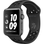 Apple Watch Series 3 Nike+ 42mm GPS Space Gray Aluminum Case with Anthracite/Black Nike Sport Band (MTF42)