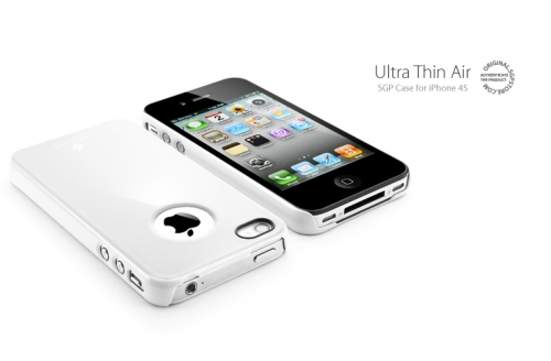 SGP Ultra Thin Air Infinity White - iPhone 4/4S