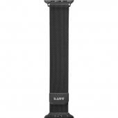 Laut Steel Loop for Watch 44/42, Black (L_AWL_ST_BK)