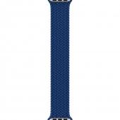 Ремешок Apple Watch 40mm Atlantic Blue Braided Solo Loop Size 4 (MY6Y2)