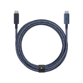 Native Union Belt 2.4 m Cable USB-C to USB-C Pro, Indigo (BELT-C-IND-PRO-NP)