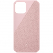Чехол накладка Native Union Clic Canvas Case for iPhone 12 Mini, Rose (CCAV-ROS-NP20S)