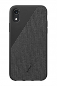 Чехол Native Union Clic Canvas Black for iPhone XR
