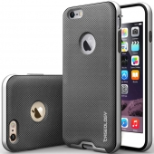 Caseology [Bumper Frame] iPhone 6 Plus Case [Mesh Metallic Silver] (CO-I6L-BMP-MSH-SV)