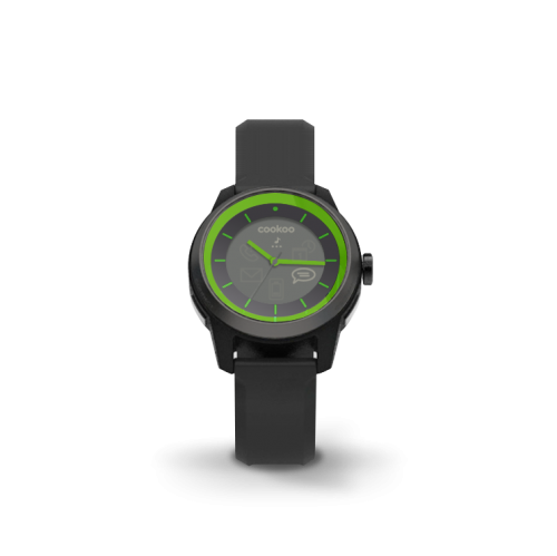 COOKOO Watch GreenOnBlack (CKW-ZK002-01)(Limited Edition)