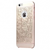 Чехол iBacks Aluminium Case Essence Cameo Venezia Series Gold for iPhone 6/6S (00-00011278)