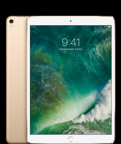 "Apple iPad Pro 10.5"" Wi-FI + Cellular 64GB Gold (MQF12)"