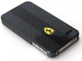 Карбоновый чехол Ferrari для iPhone 4/4S