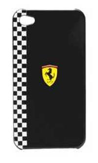 Чехол Ferrari Formula-1 Black для iPhone 4/4S